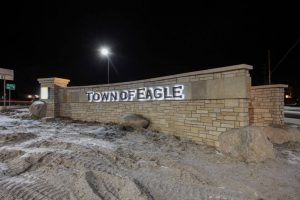 Town of Eagle Sign